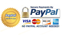 Paypal secured and verified